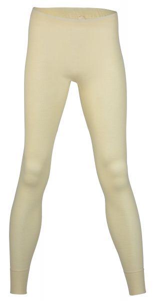 Damen-Unterhose lang, Feinripp natur