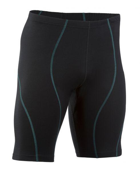 Herren-Shorts, Nähte in Kontrastfarben, Schlüsseltasche vorne black