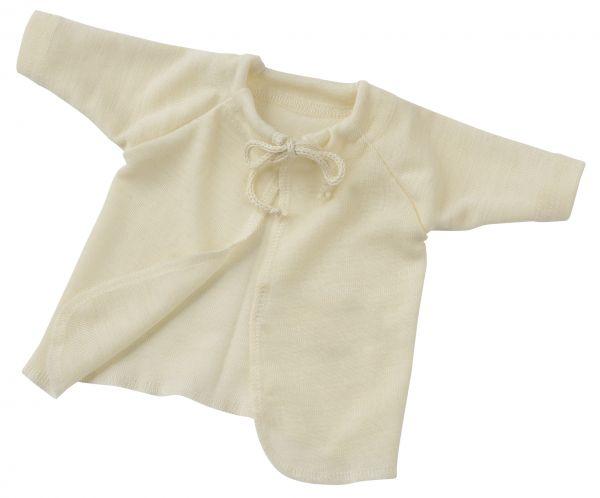 Baby-Flügelhemd, Feinripp natur