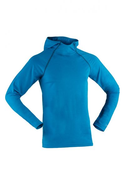 Herren Hoody langarm, Regular fit sky