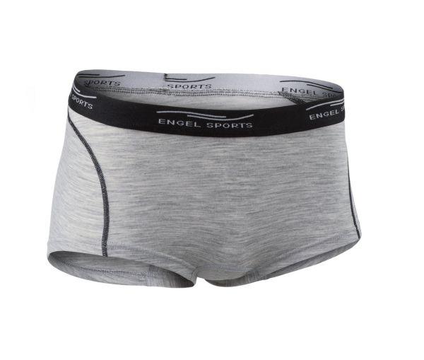 Damen Hot Pants silver stone