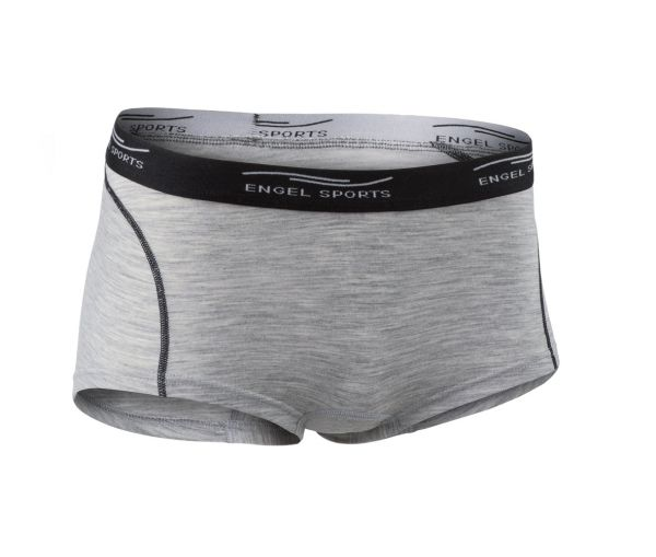 Damen Hot Pants silver stone