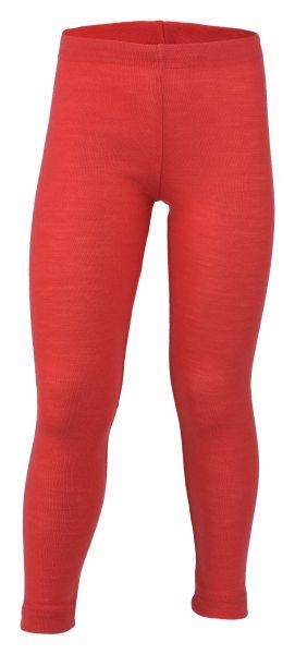Kinder-Leggings, Feinripp hibiscus