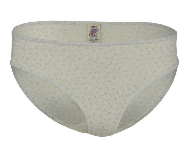 Damen Bikini-Slip, Singlejersey offwhite (bedruckt)