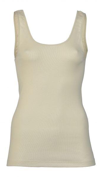 Damen-Trägerhemd, Feinripp natur