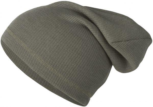Baby-Beanie, Nadelzug grey