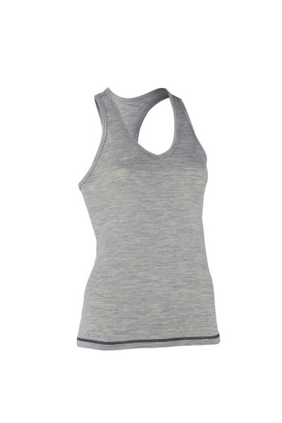 Damen Top, Regular fit silver stone