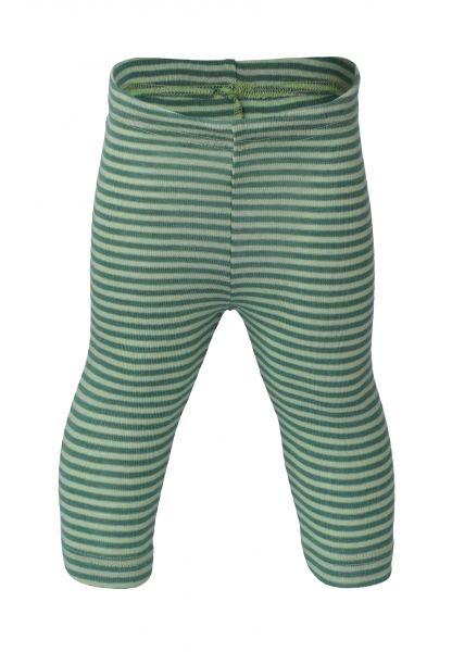 Baby-Leggings, Feinripp pastellgrün/frühlingsgrün (5:5)