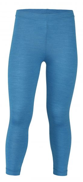 Kinder-Leggings, Single Jersey sky melange