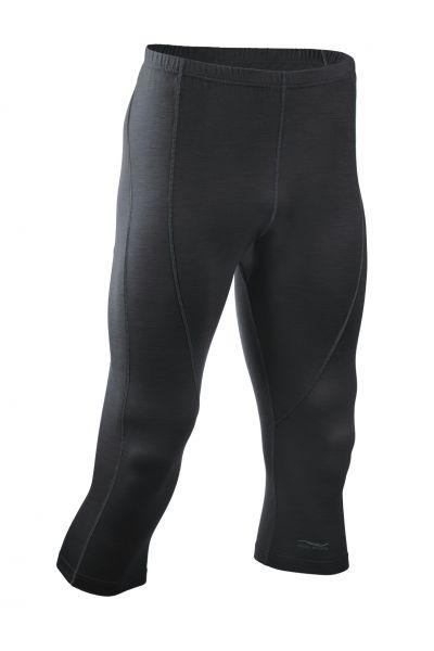 Herren Leggings 3/4 lang black