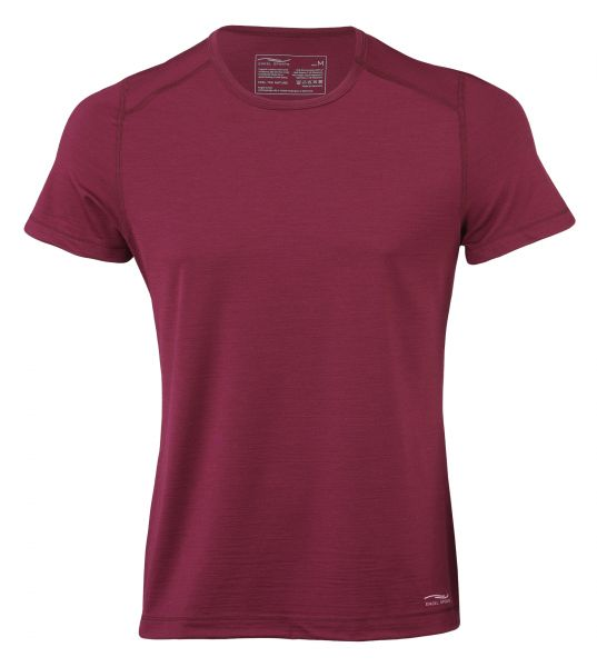 Herren Shirt kurzarm, Regular fit tango red