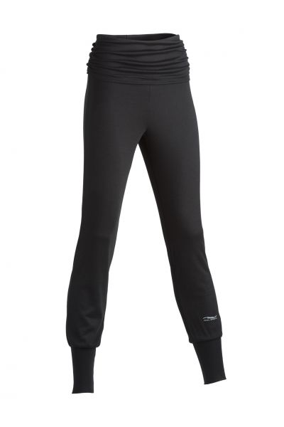 Damen Yoga Hose black