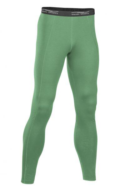 Herren Leggings lang, Schlüsseltasche hinten smaragd