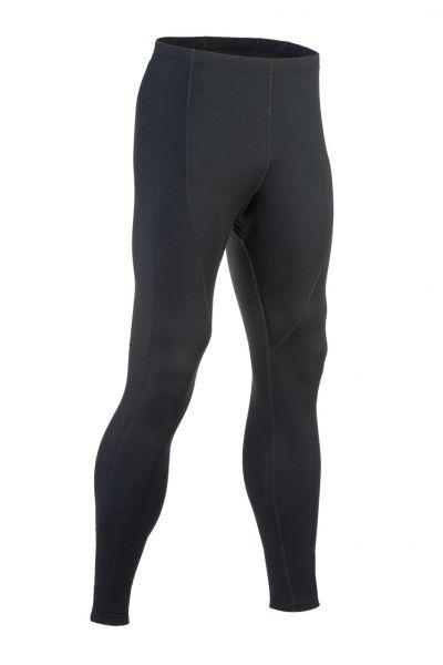 Herren-Leggings lang, Single Jersey black